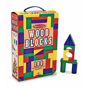 Wooden Color Blocks (100 pcs.)