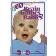 125 Brain Games For Babies - Paperback