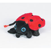 Lady Bug Puppet Glove