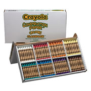 Crayola® Construction Paper Crayons Classpack - Large (160 count, 8 colors)