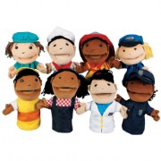 Occupation Puppets - Set of 8