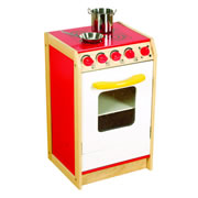 Guidecraft Bright Color Kitchen Stove