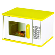 Guidecraft Bright Color Kitchen Microwave
