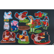 Little Red Hen Felt Set
