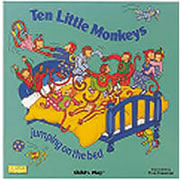 Ten Little Monkeys - Big Book