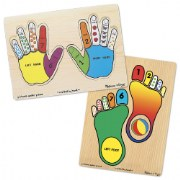 Hands & Feet Puzzle Set
