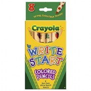 Crayola® 8-Pack Write Start Colored Pencils Classpack (12 boxes)
