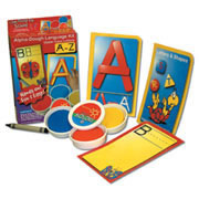 Uppercase Letter Dough Kit