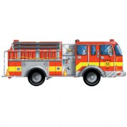 Fire Truck Puzzle 24 pieces