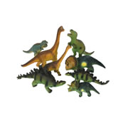 Soft Dinos - Set of 8
