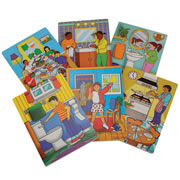 Kaplan Life Skills Knobless Puzzles (Set of 6)