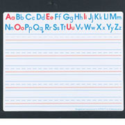 Alphabet Write and Wipe Boards - Set of 30