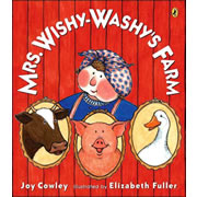 Mrs. Wishy-Washy's Farm - Paperback