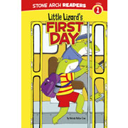Little Lizard's First Day - Paperback