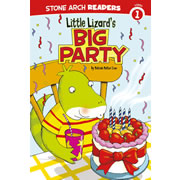 Little Lizard's Big Party - Paperback