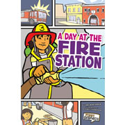 Day at the Fire Station - Paperback