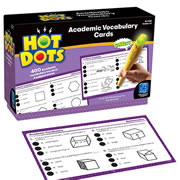 Hot Dots® Academic Vocabulary Cards