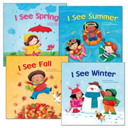 I See Book Set (Set of 4)