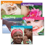 The Five Senses Book Set (Set of 5) - Paperback