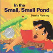 In The Small Small Pond (Hardcover)