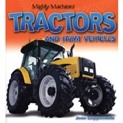 Mighty Machines Tractors and Farm Vehicles - Paperback