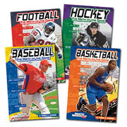 Sports Math Book Set - Paperback (Set of 4)