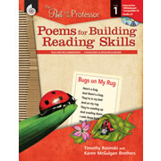 The Poet and The Professor: Poems for Building Reading Skills Levels 1 - 5