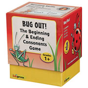Bug Out! The Beginning and Ending Consonants Game