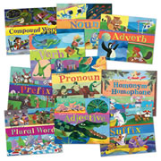Word Fun Books Set 1 (Set of 10 Books)