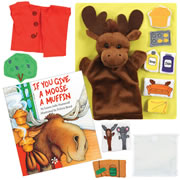 If You Give a Moose a Muffin Story Set and Book