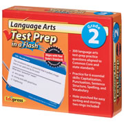 Language Arts Test Prep in a Flash