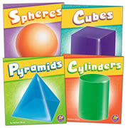 3 Dimensional Shapes Book Set (Set of 4) - Hardback