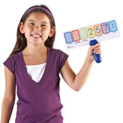 Write & Wipe Place Value Answer Boards (Set of 5)