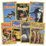 National Geographic Readers - Level 1 (Set of 7)