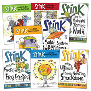 The Adventures of Stink Book Set (Set of 8)