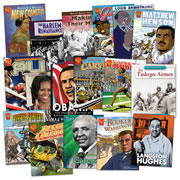 Black History Heroes Book Set (Set of 17)