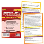 Quick Flip Resources™ for Common Core Standards
