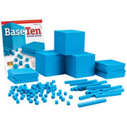 Plastic Base Ten Place Value Set
