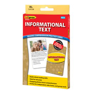 Informational Text Reading Comprehension Practice Cards