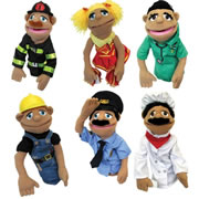 Happy Puppets (Set Of 6)