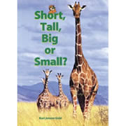 Short Tall Big Small (Big Book)