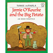 Jamie O'Rourke And The Big Potato (Paperback)