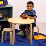 Nordic Table and 4 Stools