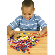 Number Beads and Math Equations