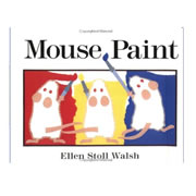 Mouse Paint Lap Board Book