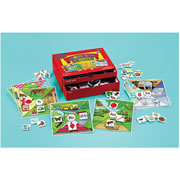 Beginning Sounds Phonics Center Kit