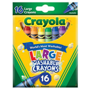 Crayola® 16 Large Washable Crayons