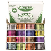 Crayola® Standard Classpack  (800 count, 50 each color)