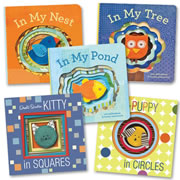 Finger Puppet Board Book Set (Set of 5)