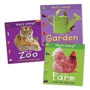 Who's Hiding? Lift the Flap Board Book Set